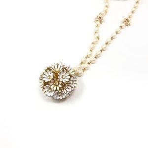Kate Spade loves me loves me not pendant necklace